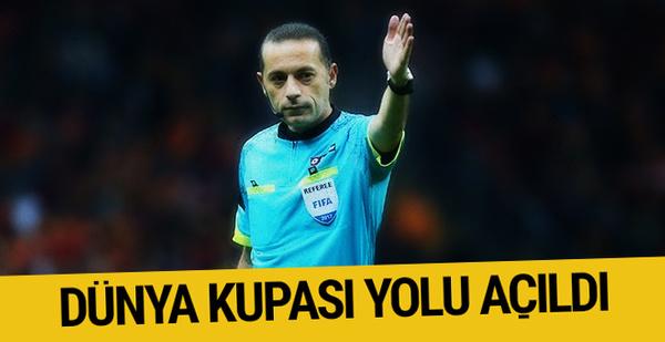Cüneyt Çakır ve ekibine Dünya Kupası yolu açıldı!