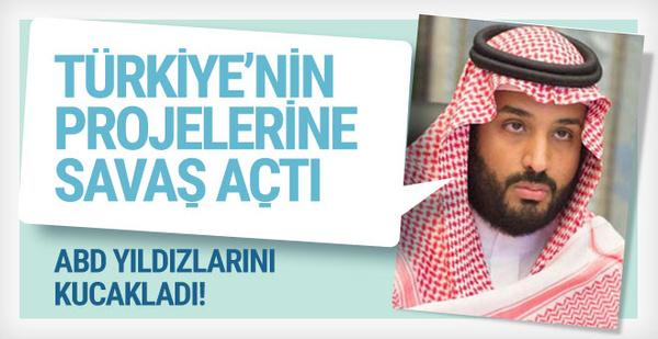 Prens Salman Türk dizilerine savaş açtı