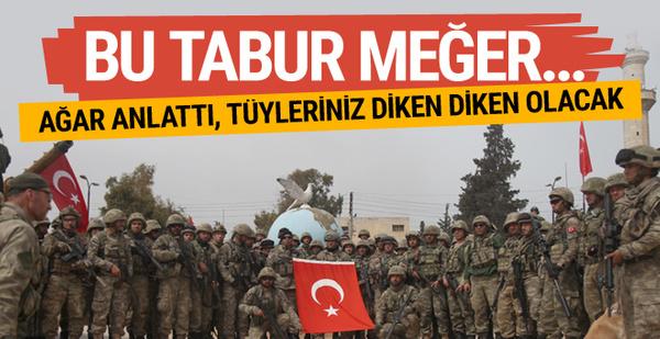 Abdullah Ağar anlattı! Meğer Afrin'de and içen bu komando taburu...