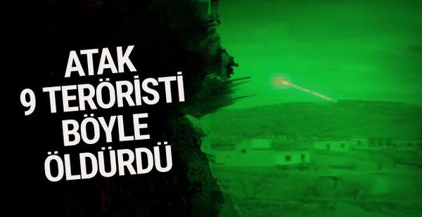 TSK'dan açıklama ATAK bomba yağdırdı o teröristler öldürüldü
