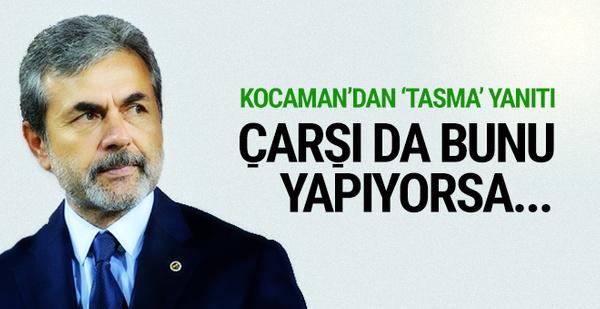 Aykut Kocaman'dan Çarşı'ya yanıt