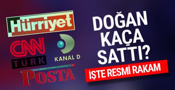Hürriyet - Kanal D ve CNN Türk kaça satıldı? İşte bomba rakam