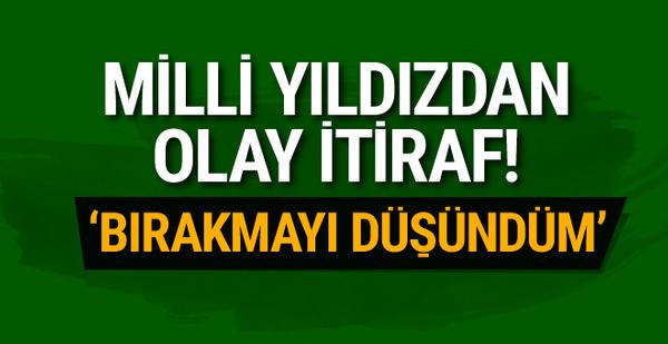 Mehmet Topal'dan olay itiraf!