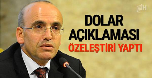Mehmet Şimşek'ten dolardaki yükselişle ilgili özeleştiri