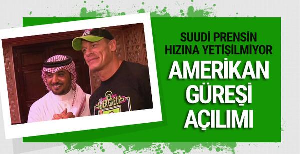 Suudi Arabistan Amerikan güreşlerine ev sahibi olacak