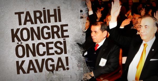 Galatasaray'da tarihi kongre öncesinde sunum kavgası!