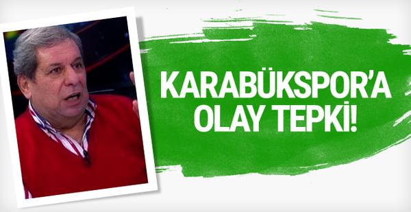 Erman Toroğlu'ndan Karabükspor'a tepki