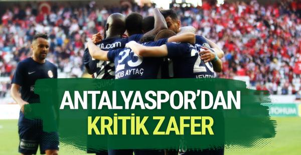 Antalyaspor-Bursaspor maçı sonucu ve golleri
