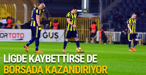 Borsada kazandıran tek takım Fenerbahçe