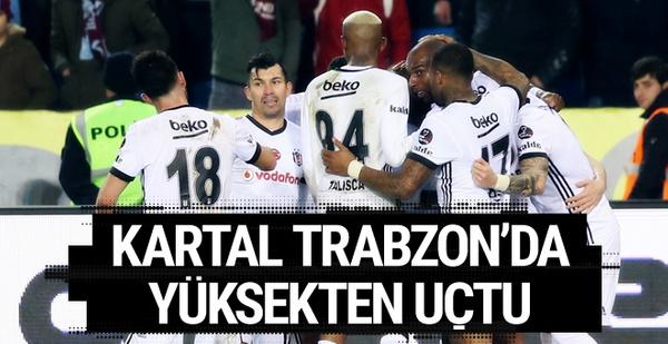 Trabzonspor-Beşiktaş maçı golleri ve geniş özeti