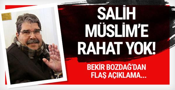Salih Müslim için flaş adım! PKK mitinginde görülmüştü...