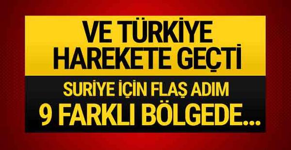 Türkiye'den Suriye için flaş hamle! 170 bin kişilik...