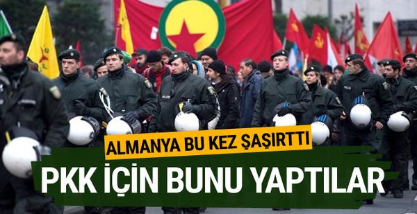 Almanya'da iki şirkete PKK soruşturması!