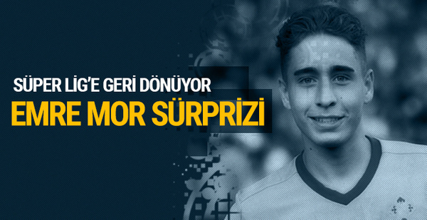 Beşiktaş'ta Emre Mor sürprizi!