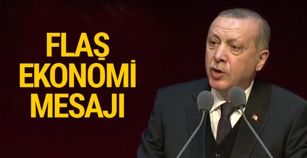 Erdoğan'dan flaş açıklama: Ekonomi üzerinden oyunlar oynanıyor
