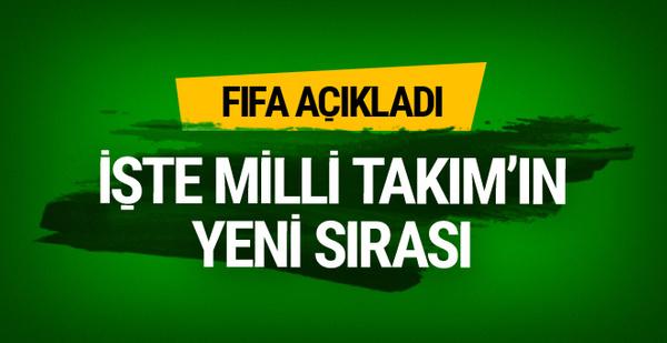 FIFA açıkladı! İşte Milli Takım'ın yeni sırası