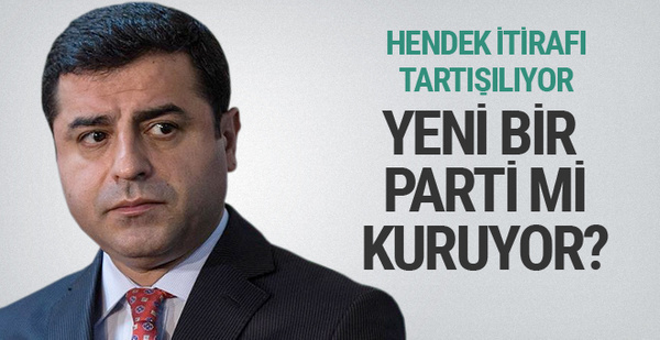 Selahattin Demirtaş yeni parti mi kuruyor?