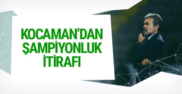 Aykut Kocaman'dan şampiyonluk yorumu