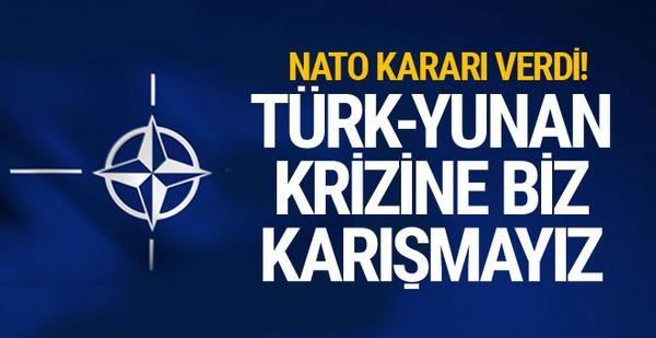 NATO Türk-Yunan krizine karışmaz! S-400 Türkiye'nin kararı...