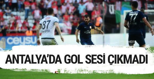 Antalyaspor Konyaspor sonucu ve özeti