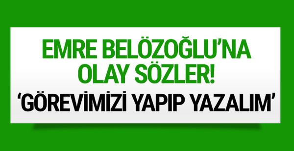 Mehmet Demirkol'dan Emre Belözoğlu için olay sözler