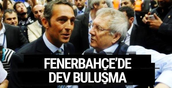 Fenerbahçe'de dev buluşma
