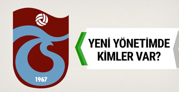 Trabzonspor'da yeni yönetimin görev dağılımı belli oldu