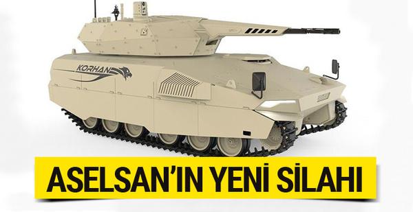 ASELSAN'ın yeni silahı KORHAN göreve hazır