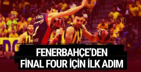Fenerbahçe'den Final Four için ilk adım