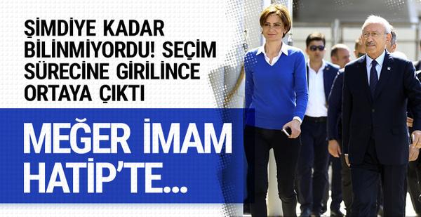 Kemal Kılıçdaroğlu'nun İmam Hatip'te okuttuğu kız öğrenci