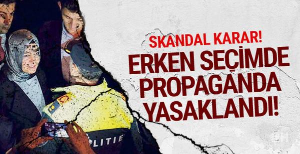 Skandal karar! Türk siyasetçilere erken seçim izni yok!