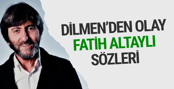 Rıdvan Dilmen Fatih Altaylı'yı bombaladı!
