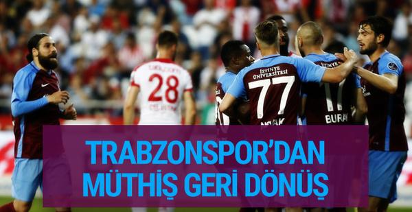 Antalyaspor - Trabzonspor maçı golleri ve geniş özeti