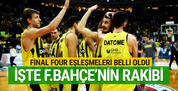 Dörtlü Final eşleşmeleri belli oldu! İşte Fenerbahçe'nin rakibi