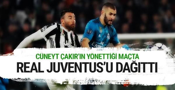 Real Madrid Juventus'u evinde dağıttı
