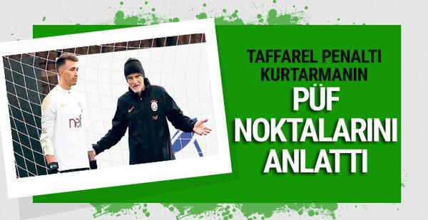 Taffarel penaltı kurtarmanın püf noktalarını anlattı