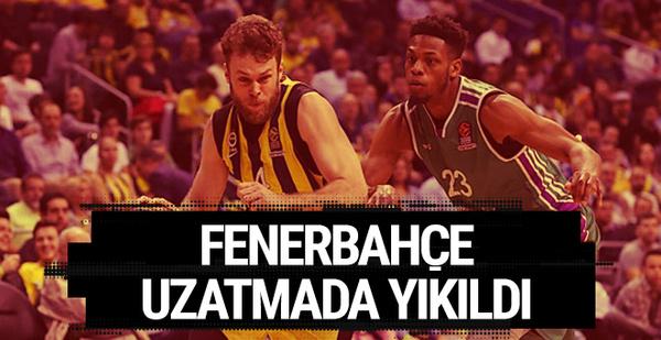 Fenerbahçe uzatmada kaybetti! Rakibi belli odlu...