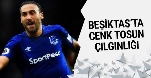 Beşiktaşlılardan Cenk Tosun çılgınlığı!