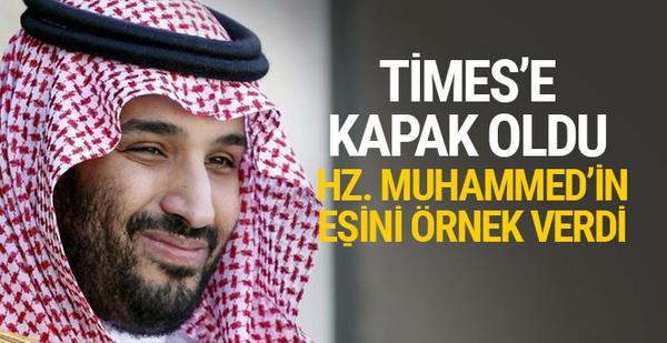Times'e kapak oldu, Hazreti Muhammed'in eşini örnek gösterdi