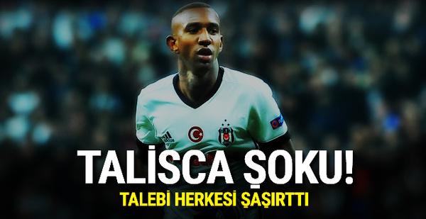 Beşiktaş'a Talisca şoku! Talebi herkesi şaşırttı