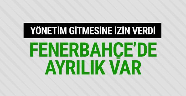 Yönetim izin verdi! Fenerbahçe'de ayrılık var!