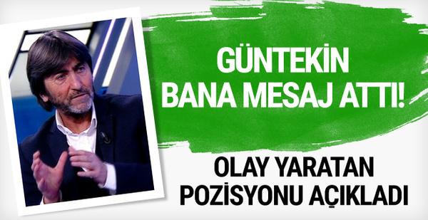 Rıdvan Dilmen tartışmalı pozisyonu açıkladı