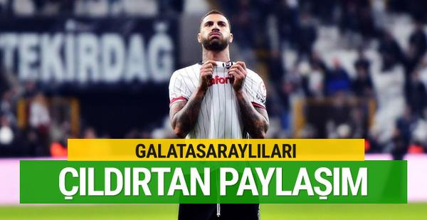 Quaresma'dan Galatasaraylıları çıldırtan paylaşım