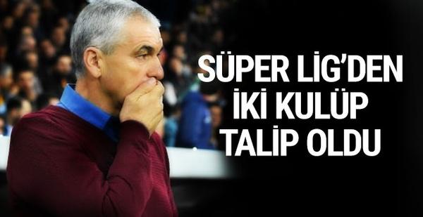 Rıza Çalımbay'a Göztepe ve Bursaspor'dan teklif