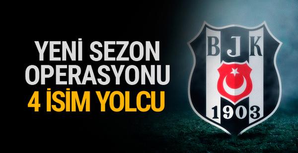 Beşiktaş'ta yeni sezon operasyonu! 4 isim yolcu...