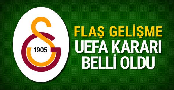 UEFA'nın Galatasaray kararını Mustafa Cengiz açıkladı
