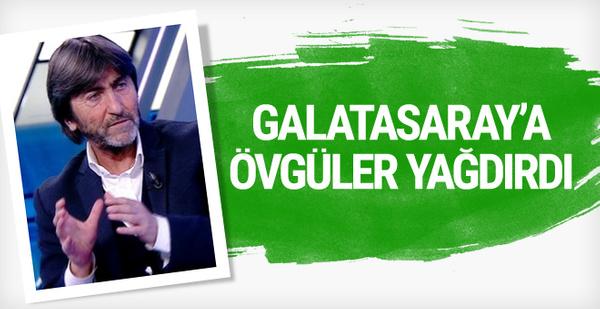 Rıdvan Dilmen'den Galatasaray'a övgü