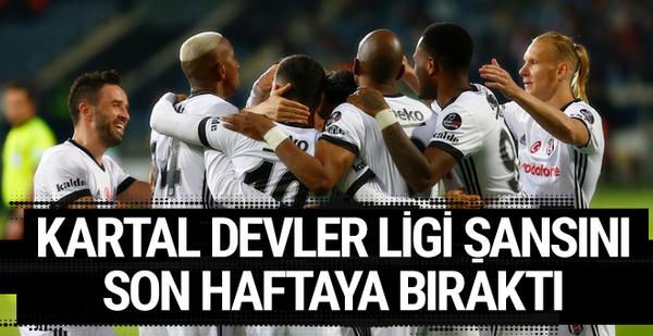 Osmanlıspor - Beşiktaş maçı golleri ve geniş özeti