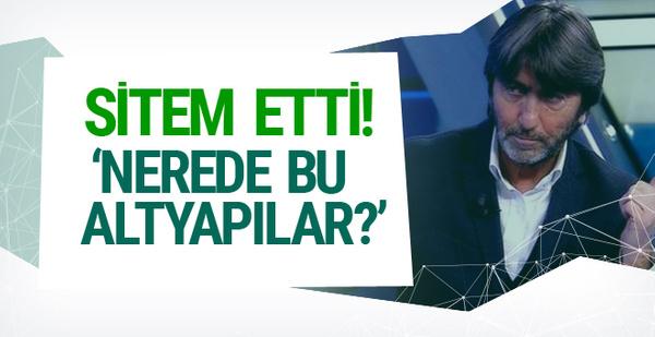 Rıdvan Dilmen'den sert eleştiri!