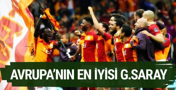 Avrupa'nın en iyisi Galatasaray